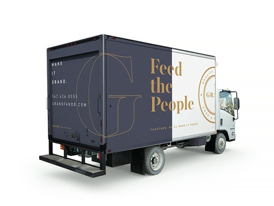 Feed the People wraps trucks catering food grand