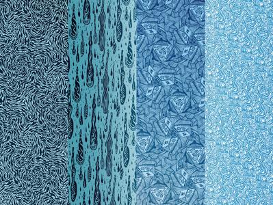 Pack_mosaïque_5 wall art mosaic pattern illustration design