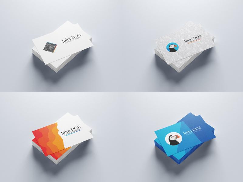 Carte de visite concept business businesscard
