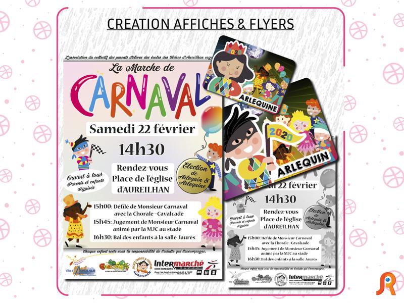 Création d'affiches & flyers print design affiche flyer affiches
