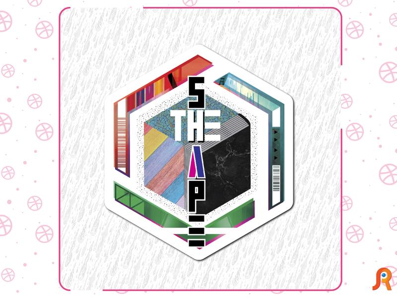 The shape branding logo design