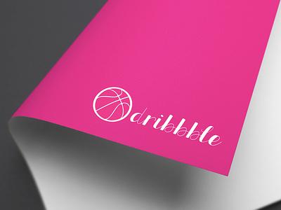 Logo Design For Dribbble (mockup) logos logo design vector 3d illustration design photoshop mockup design branding graphic design logo