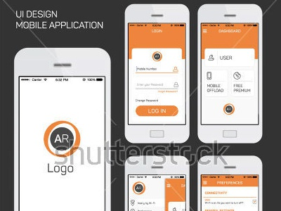 Mobile Application Ui Interface Design Vector by Asgar Qureshi ...