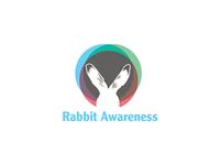 Rabbit Awareness Logo mark
