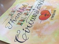 Hand lettering - Gift