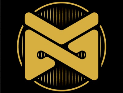 NM monogram type app branding art illustrator illustration design typography icon logo