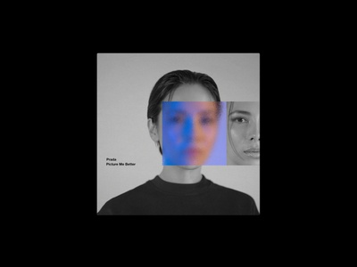 Prada — Picture Me Better album music single cover branding graphic design