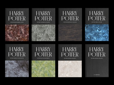 Harry Potter Adult Covers hardcover stones harry potter book cover cover book branding graphic design