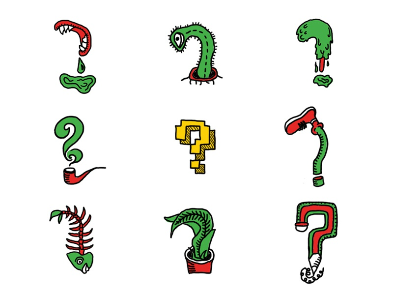kinds of question mark