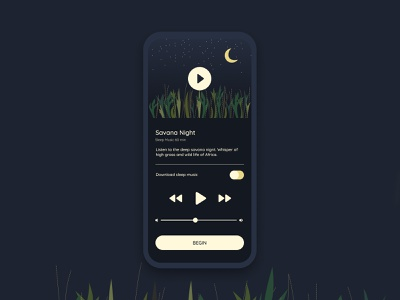 009 DailyUi Music Player illustration dark black web ui mobile app dailyui modern design