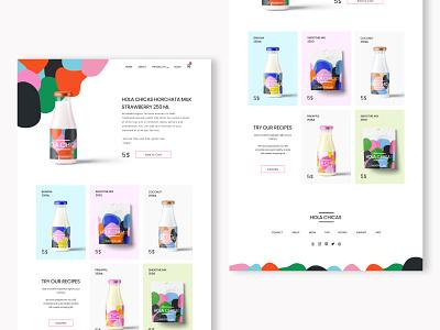 E-comme Web Design ecommerce vector illustration web ui modern design dailyui