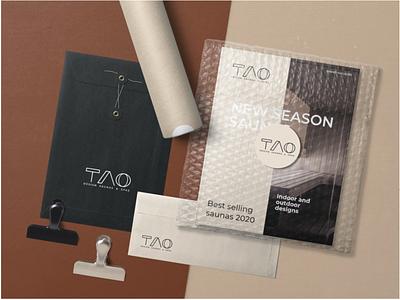 TAO logo design logo branding design modern