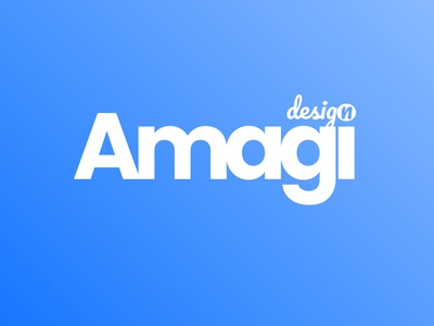 Amagi design fresh concept of the previous logo web typography branding minimal website ui design figma debut logo