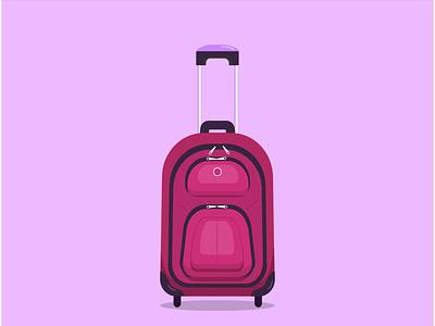 Иконка чемодан. Путешествие ui illustration vector design поездка сумка трансфер аэропорт иконка иллюстрация путешествие чемодан
