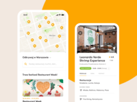 Restaurant Club – Discovery discover e-commerce restaurants foodies foodie restaurant club club restaurant mobile app mobile