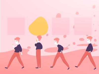 Neat! *Click* pastel illustration design illustration art vector vector art inspiration illustration
