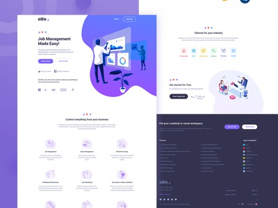 Job Management  || Landing Page