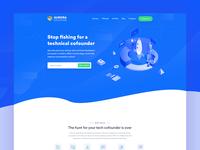 Aurora || Agency Landing Page
