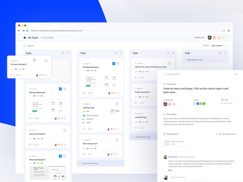 Task Management Dashboard clean ticket  bord ticket  list ticket webapp trello bord trello jira tables pipeline card list card task list task flow task app task task manager project management tool project management task management