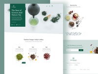 Difference Tea | landing page
