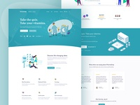 E-commerce  |  Landing page