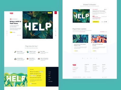 Charity || Landing Page
