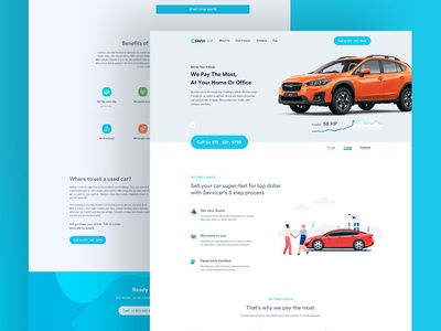 SavviCar | Landing Page