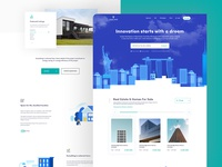 Smart Home Realty illustration landing page property developer building company apartment building apartments property listing agency branding agency search property management homepage real estate branding real estate agency real estate agent real estate property houses home