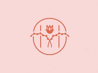 Hanna M Personal Logomark icon branding design drawing minimal branding design logo illustration vector graphic design