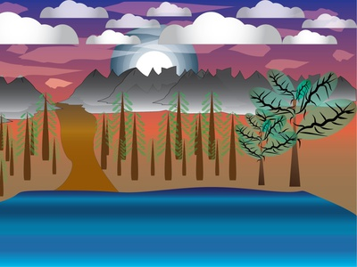 wallnature designer illustration wesam design art dribbble illustrator design
