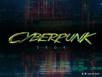 Cyberpunk Text Effects - 10 PSD