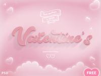 FREEBIE - Valentines PSD Mockup vol.2