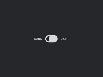 Dark/Light Mode Toggle Switch Pattern A11y pattern sleek productdesign product css javascript microinteractions microinteraction moon a11y switch toggle lightmode darkmode