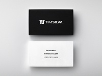 Minimal Business Cards (Free PSD)