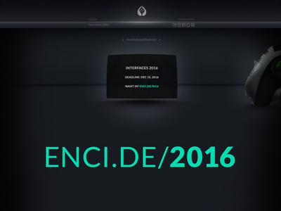 Encide Interfaces 2016 UI
