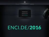 Encide Interfaces 2016 UI