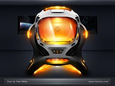 Encide Interface Bay 2012 - Step 50 encide interface bay 2012 sleek dark orange glowing futuristic