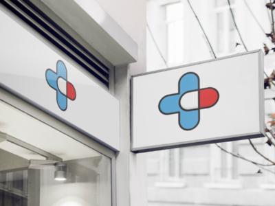 Pharmacy iran mockup health vector photoshop adobe pharmacy logo