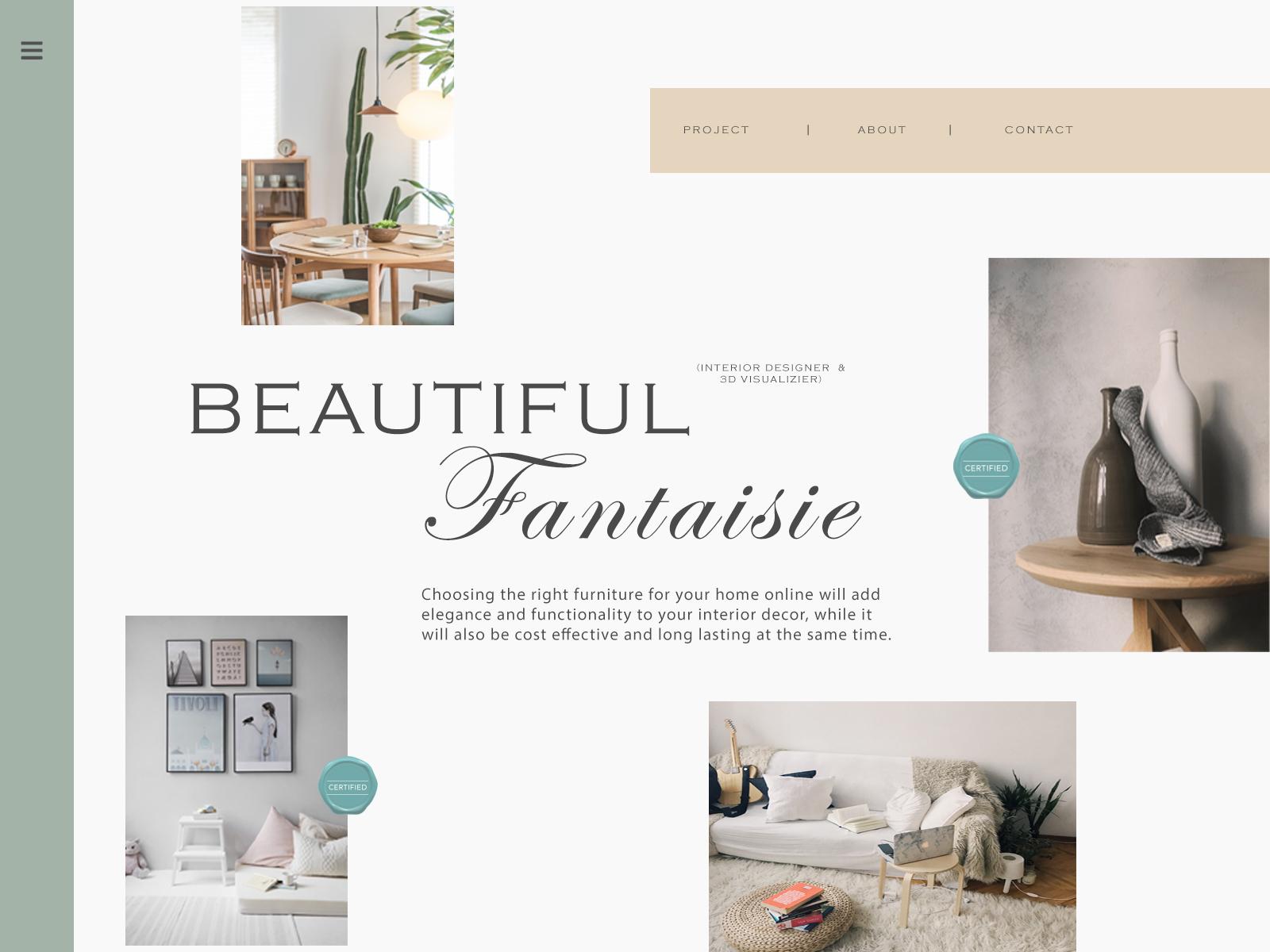 Online Home Decor Store by Neer Kumar on Dribbble