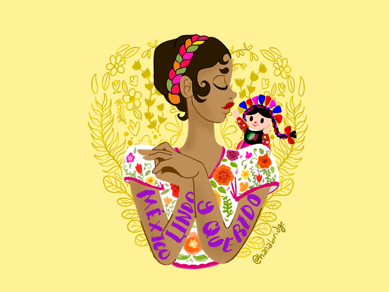 México lindo y querido medibang cartoon characters illustrator quick sketch design character design illustration drawing digital art