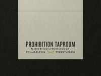Nº 004 | Jessie Jay Design For Prohibition Taproom