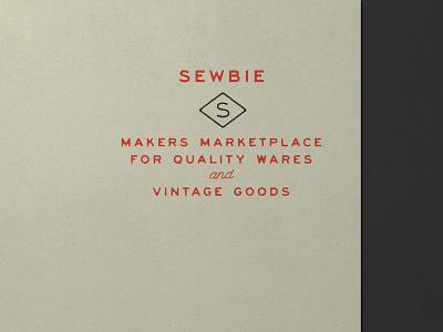 Nº 007   Jessie Jay Design For Sewbie vector design seal badge heritage lockup sans-serif antique signpainting timeless retro branding identity logo philadelphia typography vintage