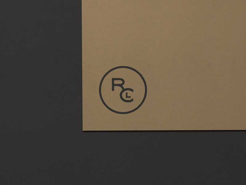Nº 021   Jessie Jay Design For River City Leather monogram logo monogram design vector seal badge heritage sans-serif signpainting antique timeless retro branding identity philadelphia logo typography vintage