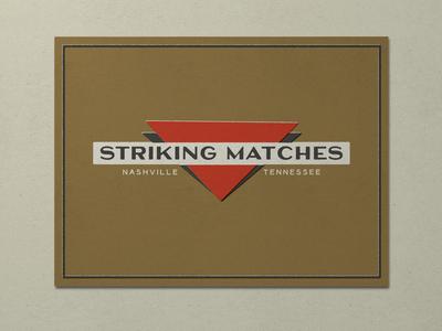 Nº 026 | Jessie Jay Design For Striking Matches