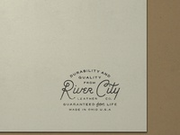 N  027   jessie jay design for river city leather