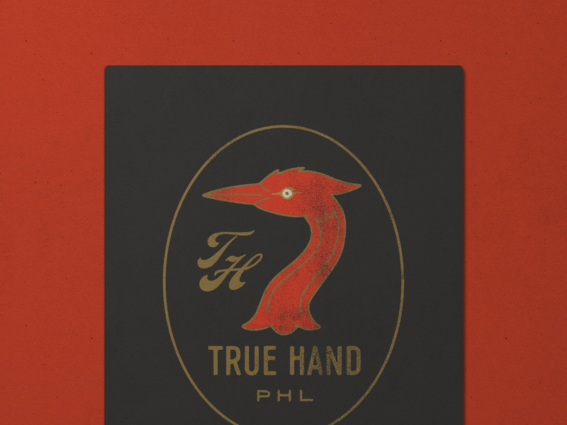 Nº 029 | Jessie Jay Design For True Hand illustration design vector seal badge lockup script heritage sans-serif signpainting antique timeless retro branding identity philadelphia logo typography vintage