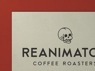 Nº 033   Jessie Jay Design For Reanimator Coffee illustration design vector badge lockup heritage sans-serif signpainting antique timeless retro branding identity philadelphia logo typography vintage