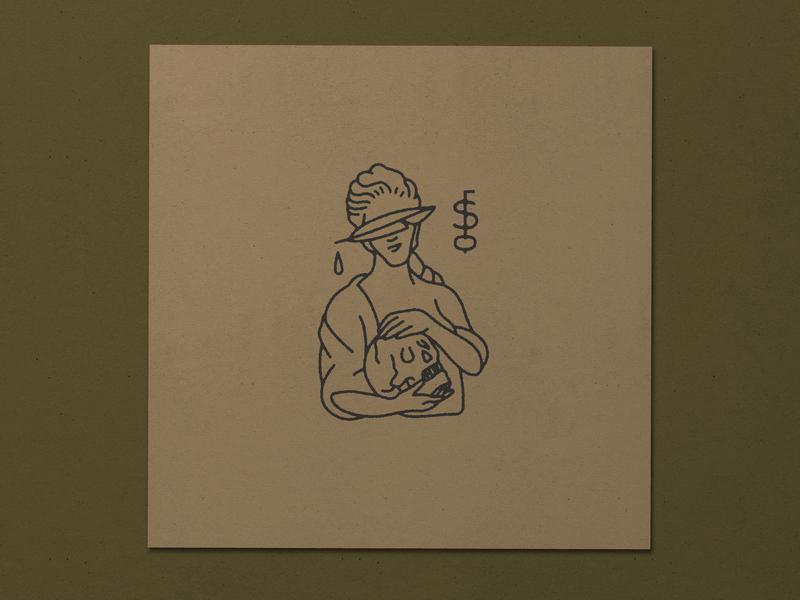 Nº 034  | Jessie Jay Design For Smoke Before Fire monogram illustration vector badge heritage antique timeless retro branding identity philadelphia logo vintage