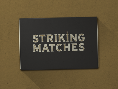 N° 036 | Jessie Jay Design for Striking Matches