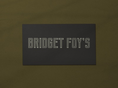 Nº 042 | Jessie Jay Design for Bridget Foy's